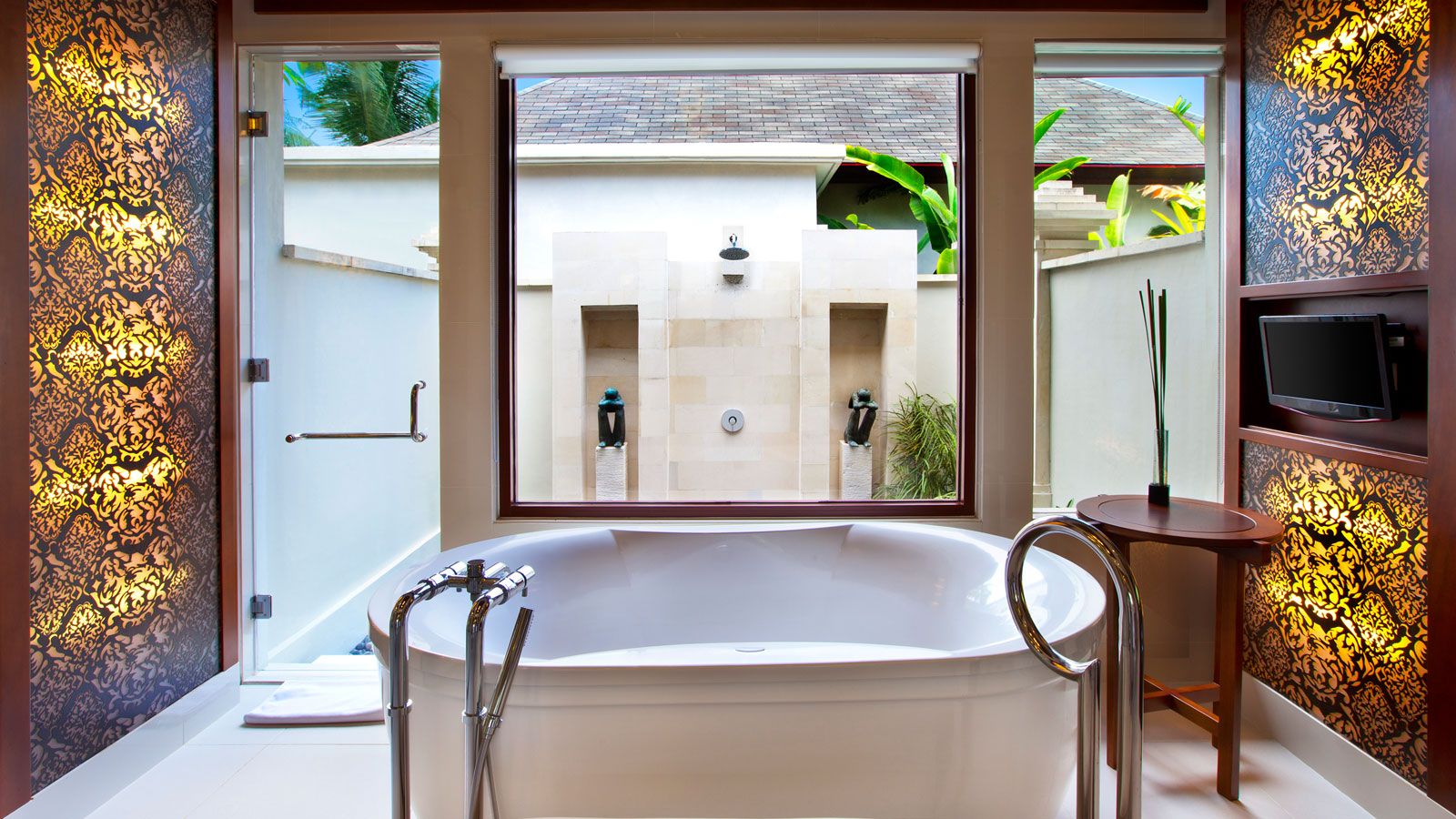 bathroom pool villa two bedroom