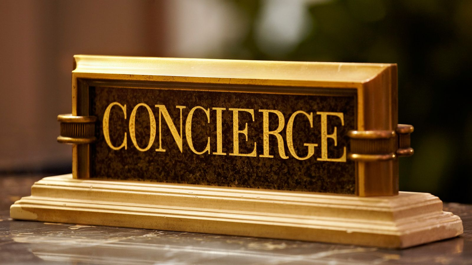 Concierge at The Laguna Bali Resort & Spa