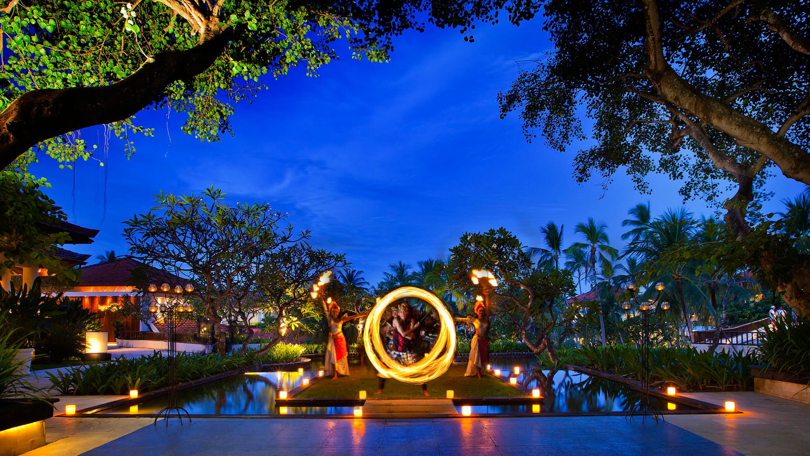 Balinese Blessing Ceremony and Dinner at Banyubiru restaurant